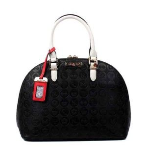 Nicole Lee Ezra Monogram Dome Bag.